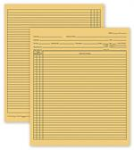 H356 General Patient Exam Records Folder Style 9 1/2 x 8