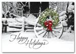 H58860 - N8860 Welcoming Sight Holiday Cards 7 7/8 x 5 5/8