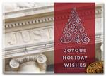 HML1505 - N1505 Classic Appeal Attorney Holiday Cards 7 7/8 x 5 5/8