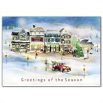 HP09314 Vintage Village Holiday Cards 7 7/8 x 5 5/8
