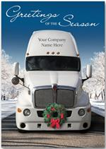 HP13320 - N3320 Deck The Haul Truck Driver Holiday Cards 5 5/8 x 7 7/8