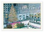 HP14320 - N4320 Festive in New York Christmas Cards 7 7/8 x 5 5/8