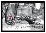 HP15308 - N5308 City Snow Day Holiday Cards 7 7/8 x 5 5/8