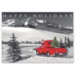 HP16303 - NN6303 Classic Claus Holiday Cards 7 7/8 x 5 5/8