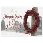 HP16306 - NN6306 Simply Thankful Holiday Cards 7 7/8 x 5 5/8