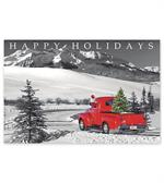 HPC6201 - N6201 Classic Claus Holiday Post Cards 6 x 4