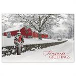 HPC6204 - N6204 Rustic Ranch Holiday Post Cards 6 X 4