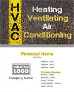 Full Color HVAC Business Cards
