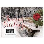 MT16018 Seasonal View Holiday Logo Cards 7 7/8 x 5 5/8