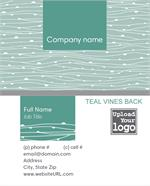 Full Color Vines Business Cards