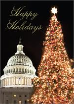 D2104 Christmas at the Capitol Regional Holiday Card 5 5/8