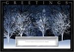H08607 Silver City Holiday Cards 7 7/8 x 5 5/8