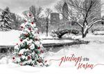 H08608 City of Wonder Holiday Cards 7 7/8