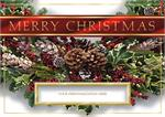 H08609 Surrounded with Cheer Christmas Cards 7 7/8 x 5 5/8