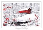 H08667 Winter Wonder Holiday Cards 7 7/8