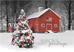 H08668 American Pride Holiday Cards 7 7/8
