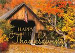 H09630 Patriotic Pass Thanksgiving Cards 7 7/8 x 5 5/8