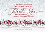 H09637 Full of Thanks Holiday Cards 7 7/8 x 5 5/8