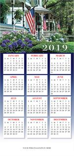 HHZ7407 - N7407 Glory Days Calendar Card 7 7/8