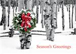 HP02303 Birch Grove Holiday Cards 7 7/8 x 5 5/8