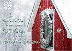 HP02307 Rural Charm Holiday Cards 7 7/8 x 5 5/8