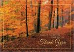 HP08308 Woodland Gratitude Thanksgiving Cards 7 7/8 x 5 5/8