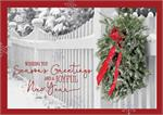 HP09305 Garden Gate Holiday Cards 7 7/8 x 5 5/8