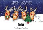 MT09001 Perfect Partners Holiday Logo Cards 7 7/8 x 5 5/8