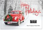MT09002 Rolling Home Holiday Logo Cards 7 7/8 x 5 5/8