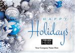 MT09003 Blue Radiance Holiday Logo Cards 7 7/8 x 5 5/8